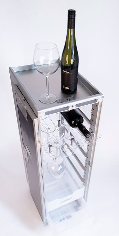 Airlinetrolley Catering Privatgebrauch