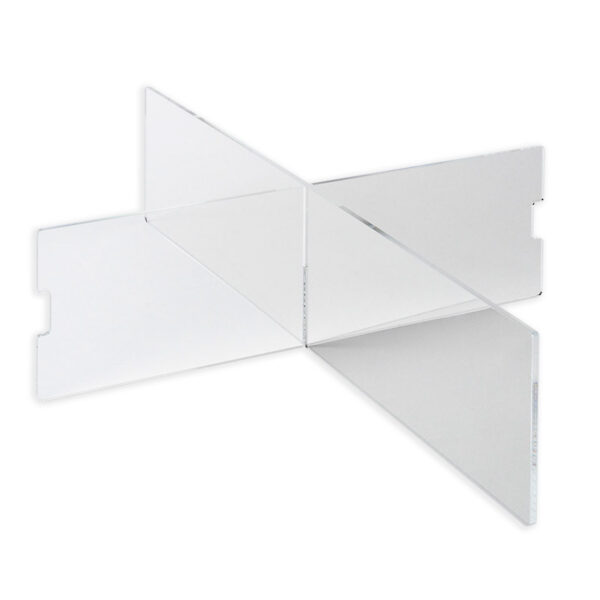 flugzeugtrolley unterteilung kreuz faecher